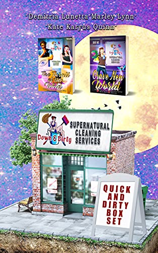 Quick & Dirty Box Set: Prequel Novella and Book 1: Down & Dirty Supernatural Cleaning Services Series Duology (English Edition)