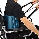 HNYG Padded Gait Belt Transfer Belt for Elderly Lift, No-Slip Medical Lift Assist Belt for Disabled, Transfer Nursing Sling Helps Patients Transfer from Car, Wheelchair, Bed(23.6 x 9in)