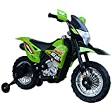 HOMCOM Moto Eléctrica Correpasillo Infantil Coche Triciclo sin Pedales para...