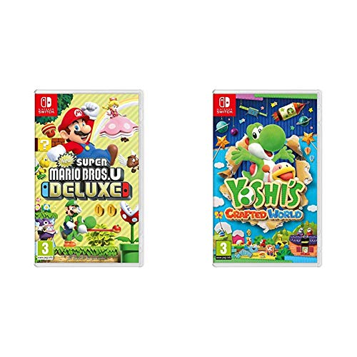 New Super Mario Bros. U Deluxe + Yoshi's Crafted World