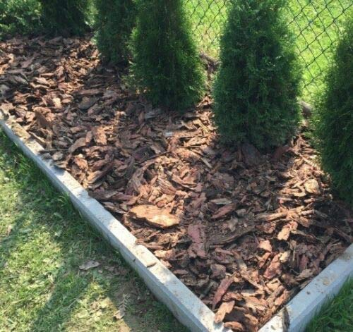 Wooden Bark Chippings mulch 0-60mm / Landscaping Garden Surfacing Mulch...