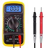 Toolwiz Multimetre Digital Profesional Mini Polimetro Digital Tester Electrico Automatico para Voltaje, Corriente DC, Resistencia, Continuidad, Frecuencia