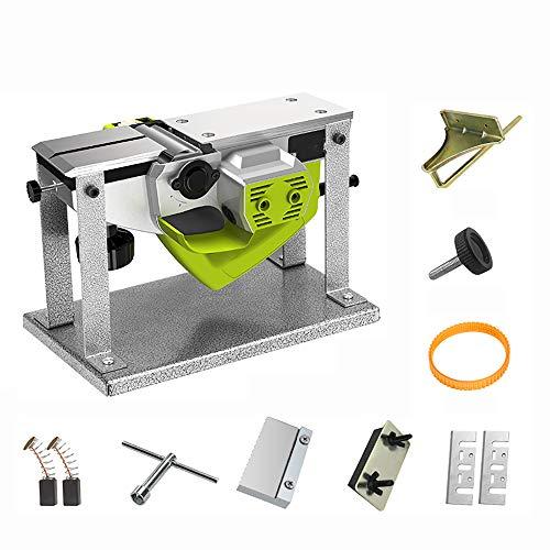 QWERTOUY 220V eléctrico Multifuncional de Madera cepilladora carpintería cepilladora portátil de Escritorio...