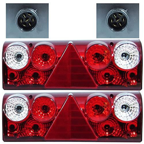 2x Rückleuchten Schmitz Europoint 2 Anhänger LKW Links Rechts