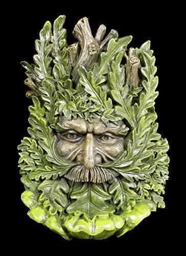 Figuren Shop GmbH Fantasy Wandrelief Waldgeist - Wise Oak   Wand-Skulptur, handbemalt, zum Hängen