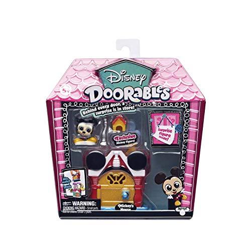 Famosa - Disney Doorables 14653F. Mini casa: Mickey Mouse.