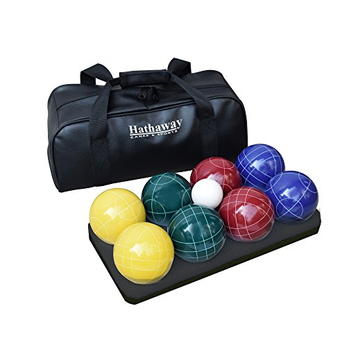 Hathaway Deluxe Bocce Ball Set Multi