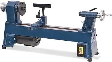 vidaXL Torno Madera 450 mm Torneado Manual Husillo Taladro Pulidora Bricolaje