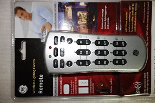 GE 45600 Z-Wave Basic Handheld Remote (not compatible with the IRIS HUB)