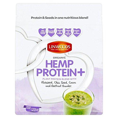 Linwoods Organic Hemp Protein+ Flax Chia Cocoa & Beetroot Powder