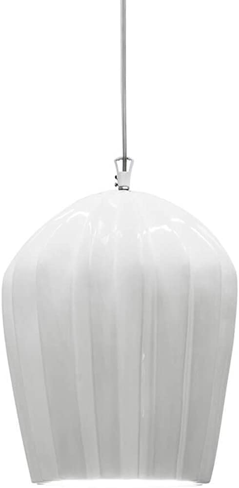 Karman sahara, lampada a sospensione, in ceramica bianca lucida SE669K-B