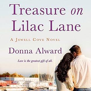 Treasure on Lilac Lane audiobook cover art