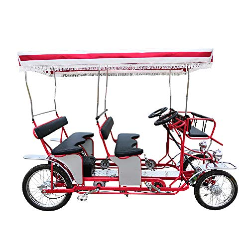 Surrey Bike Double Bench Red