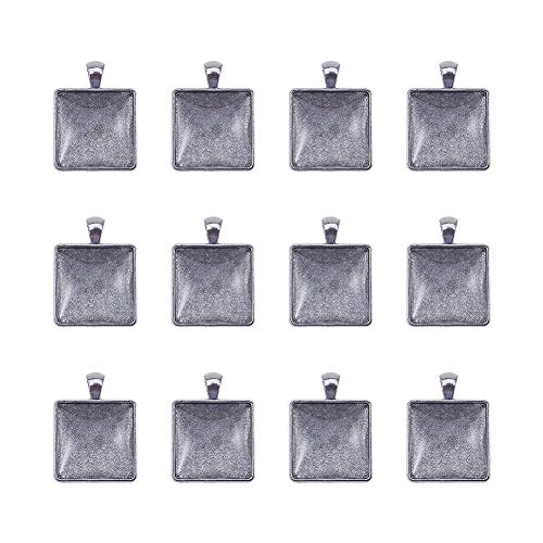 15-20mm Craft Abbellimento-Charms 12 x Mini In Pelle Nappe-Multi-Pack