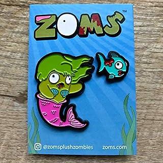 ZOMS Meranda & Gulp (Green Hair) Pin Set