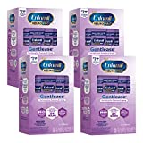 Enfamil NeuroPro Gentlease Baby Formula Gentle Milk Powder 14 Packets per Box, Pack of 4, For Easing Gas & Crying, Vitamins & Minerals for Immune Support, Infant Formula, DHA, MFGM, Iron, Non-GMO