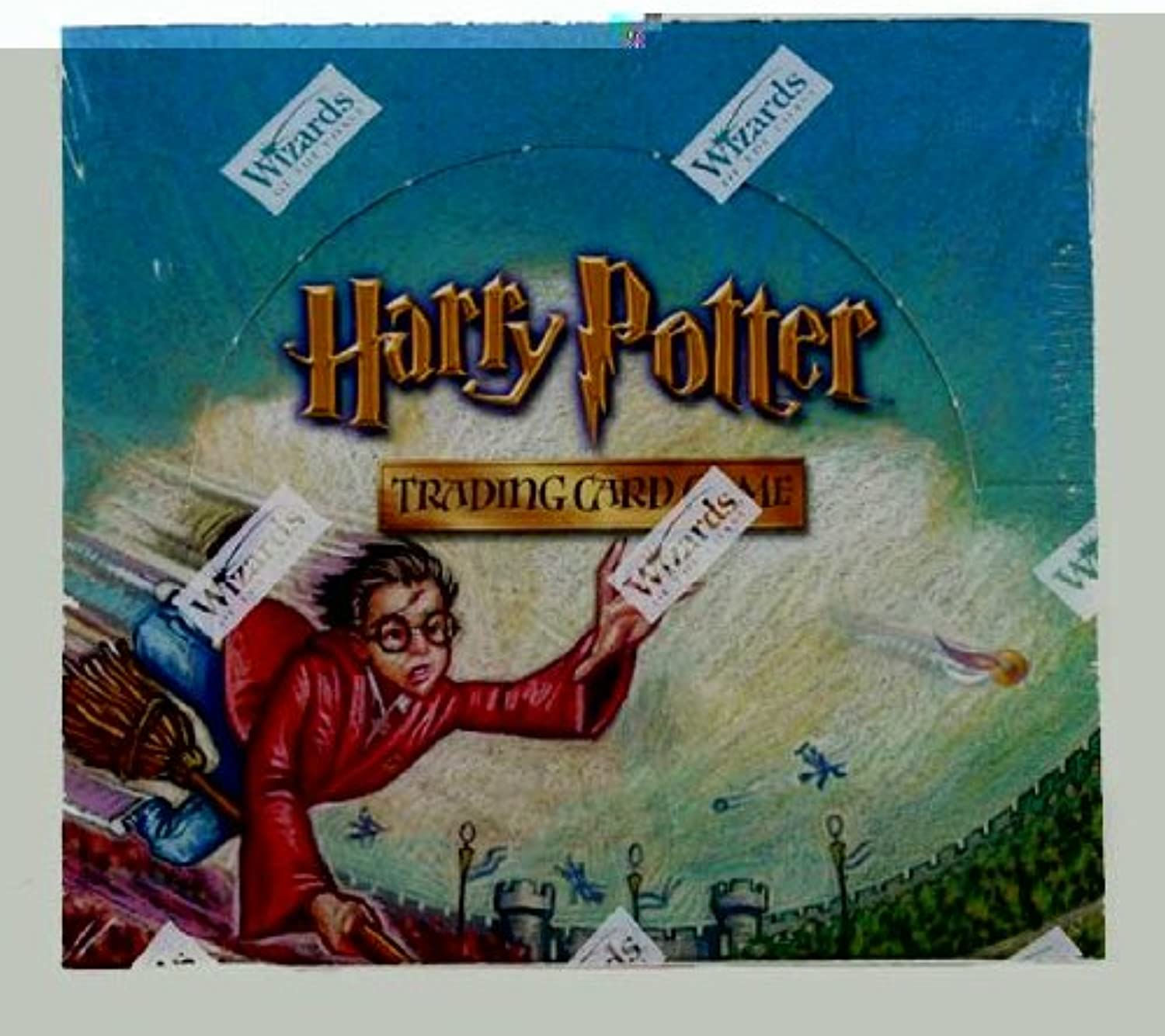 Harry Potter TCG Quidditch Cup Booster Display