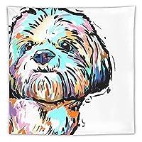 Thin Lovely Dog Pattern タペストリー壁掛けリビングルーム寝室寮部屋家の装飾ポスター