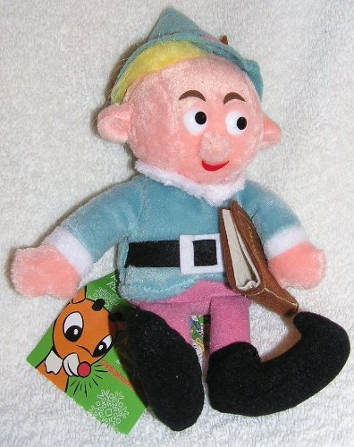 Rudolph Island of Misfit Toys 8 Plush Herbie the Elf CVS Bean Bag from 1998 by Stuffins
