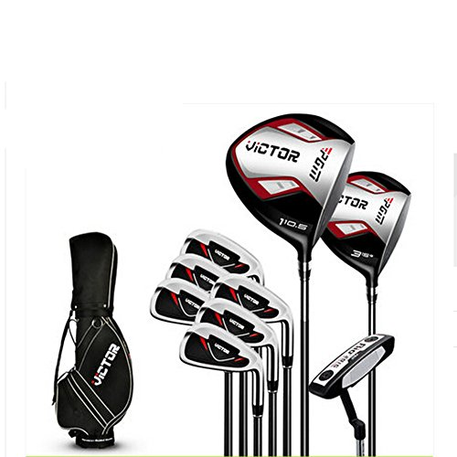 PGM Victor Golf Clubs Complete Sets Golf Package, Right Handed Clubs, Graphite Shaft #MTG007 (9 Clubs with Bag)