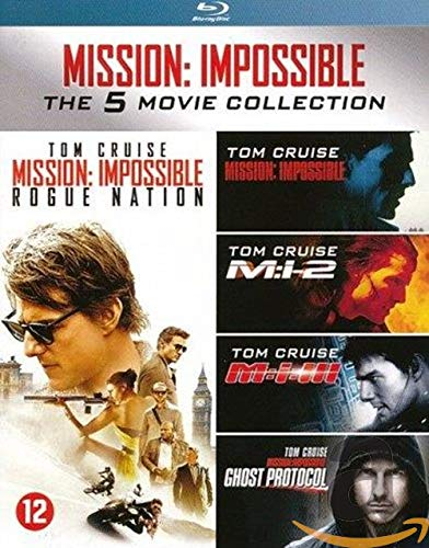 BLU-RAY - Mission Impossible 1-5 (1 BLU-RAY)