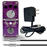 AxcessAbles LUCID FANTASY Modulation Guitar Pedal Bundle - Vibrato/Tremolo/Uni-Vibe/Wave-Chorus all-in-one and more!! Includes Power Supply and Cable