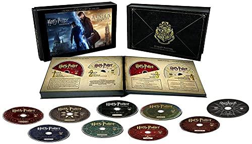Harry Potter lIntégrale des 8 Films + Les Animaux Fantastiques - Le monde des Sorciers de J.K. Rowling - Coffret DVD