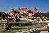 Checa Tri Praga Parque de 1000 Pieza de Rompecabezas Juego de Puzzle de obras de Arte para Adultos,actividades para Adultos y Niños Juegos Educativos en la Decoración del Hogar de Puzzle de colores