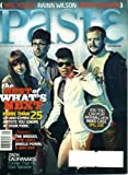 Paste #46 September 2008 Janelle Monae & The Bridges & Jamie Lidell & Bon Iver on Cover, Rainn Wilson, Neil Young, Kimya Dawson, Zach Galifianakis