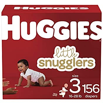 Huggies Little Snugglers Baby Diapers Size 3 156 Ct