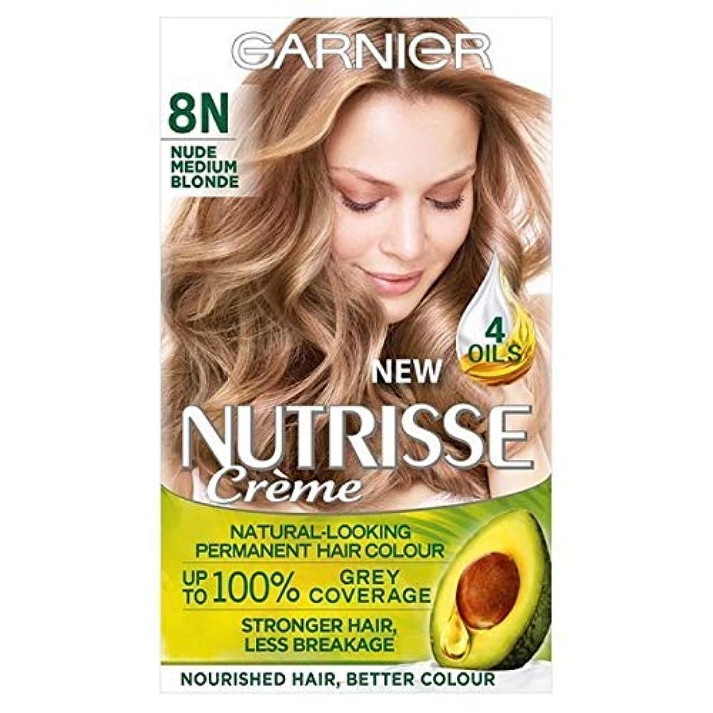 思いやりのある消費小人[Garnier ] ガルニエNutrisseヌード染毛剤8.132メディアブロンド - Garnier Nutrisse Nude Hair Dye 8.132 Medium Blonde [並行輸入品]