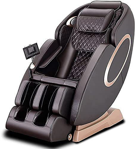 BDYALINGVN Zero Gravity Shiatsu Relax Full Body Massage Chair with Bluetooth, Hip Heating, Foot Massage and Air Pressure for Father/Mother/Home/Office