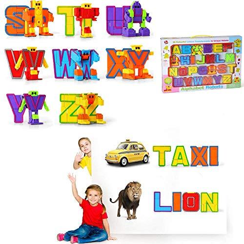 Baellar Alfabeto ABC Bot 26 Piezas para nios preescolares Juguetes educativos