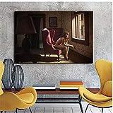 ASLKUYT Edward Hopper Leinwand Malerei Drucke Wohnzimmer