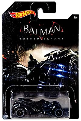 Hot Wheels, 2015 Batman, Batman: Arkham Knight Video Game Batmobile Exclusive Die-Cast Vehicle #6/6 from Mattel