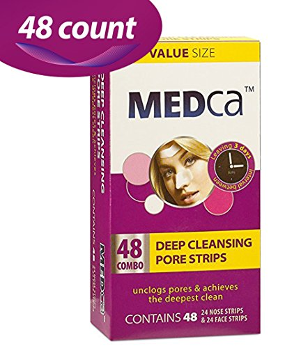 MEDca Deep Cleansing Pore Strips Combo Pack, 48 Count Strips