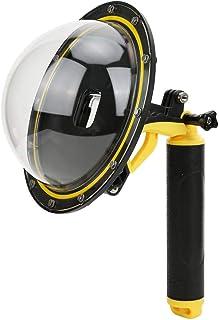 Dome Port lens set voor GoPro Hero 8 camera, Fisheye Sphere snorkelen 30m onderwater waterdicht duiken deksel case zwevend handvat voor Hero8