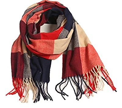 Wander Agio Kids Scarf Warm Shawls Scarves Parent-child Scarf Womens Plaid Scarfs Small