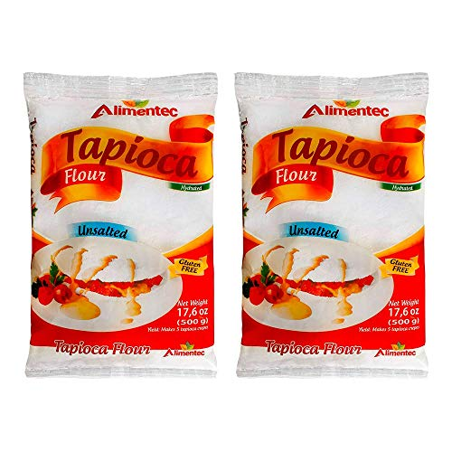 Alimentec Tapioca Flour Hydrated Gluten Free 17.6 oz ( Pack of 2 )