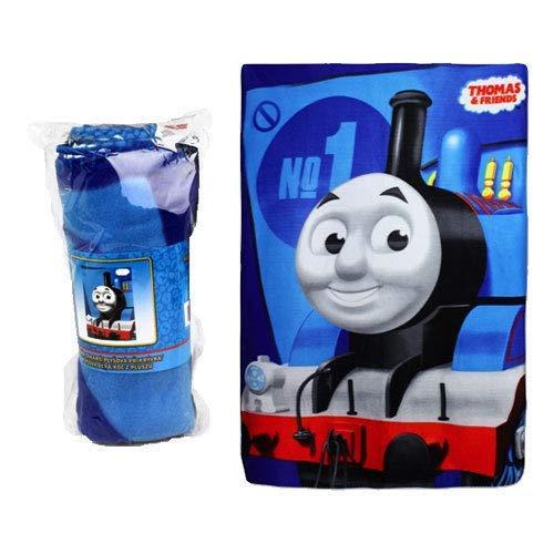 Thomas & Friends Couverture polaire pour enfant Motif la petite locomotive 100 x 140 cm