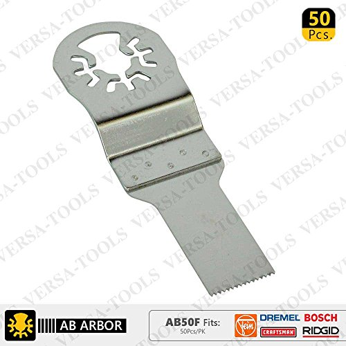 Find Discount Versa Tool AB50F 20mm Stainless Steel Multi-Tool Saw Blades 50/Pk Fits Fein Multimaste...