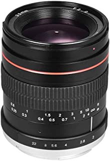 Tickas 35mm F2.0 Wide Angle Manual Focus Prime Lens Full Frame SLR Lens Low Dispersion
