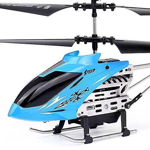 THj Mini helicóptero Volador RC, avión no tripulado de inducción con detección de Infrarrojos, Juguete con iluminación LED de Colores Intermitente y Control Remoto