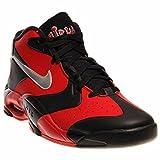 Nike [630929-002] Mens AIR UP 14 Mens Sneakers NIKEBLACK/Mtllc Silver-Unvrsty RDM