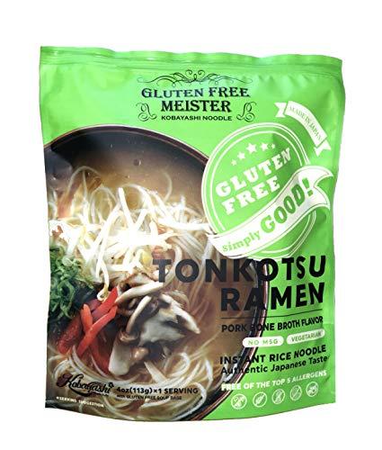 Gluten Free Meister Japanese Tonkotsu Ramen 6pk (Vegetarian)