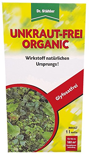 Dr. Stähler Unkraut-frei Organic 500ml glyphosatfreies Totalherbizid, Unkrautvernichter