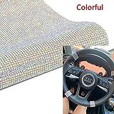 Woniutch 19440pcs Self-adhesive Bling Crystal Stone Diamond Rhinestone Sheet, Car/Phone/Hair dryer Stickers(9.5