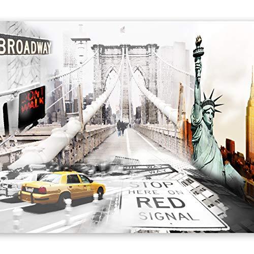 murando Papier peint intissé 350x256 cm Décoration Murale XXL Poster Tableaux Muraux Tapisserie Photo Trompe l'oeil New York 10110904-1