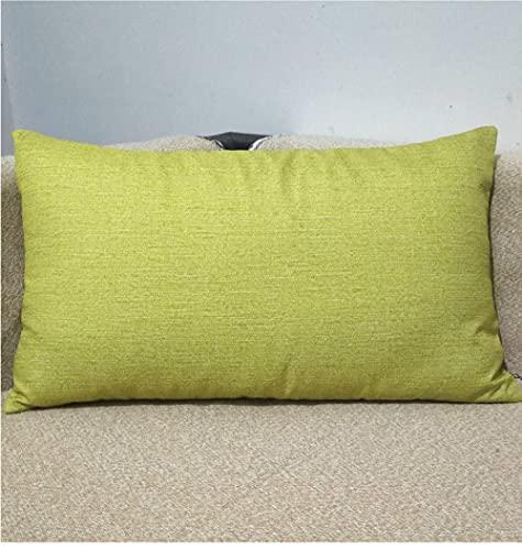 Almohada, Almohada de Diseño Ergonómico, Adecuada para Todos los Durmientes -Hierba Verde Verde_40x70cm