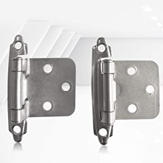 Latosiv - Door Hinges - 2pcs Set Home Hardware Drawer Cabinet Mount Furniture Cupboard Offset Insert Jewelry Box Durable - Mortise Interior Global Jeep Home Antique Removable Wheelchair Rollers Glass